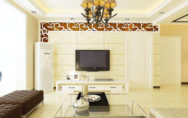 电视背景墙瓷砖图片