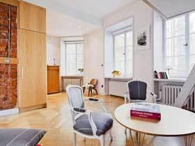 5万装40平挑高简约公寓设计案例