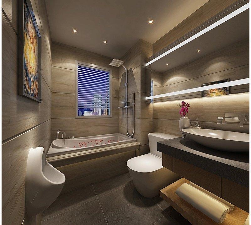 20万以上130平米欧式三居室装修效果图,欧式风格三房132平造价32高清图片