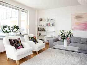 小清新文艺范北欧公寓装修 干净的家全家都喜欢