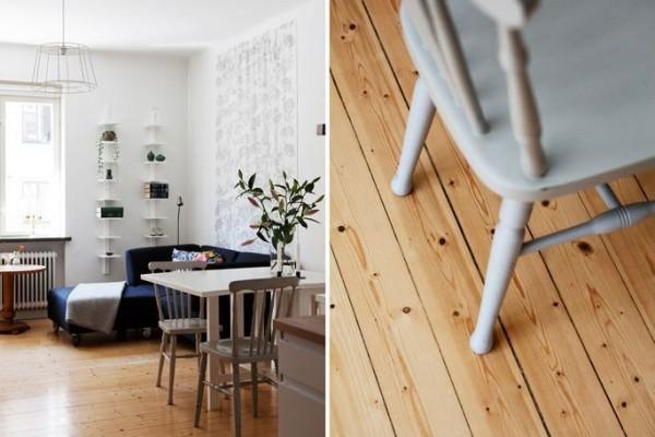 自然实木地板设计图片
