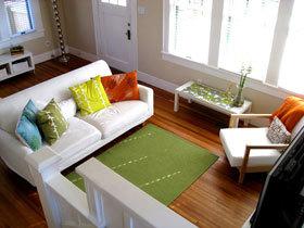 舒适简洁宜家小复式 我的家我做主