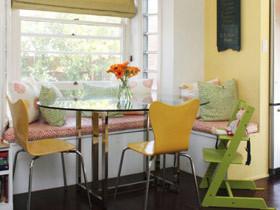 打造休闲餐厅 12款小餐厅飘窗设计