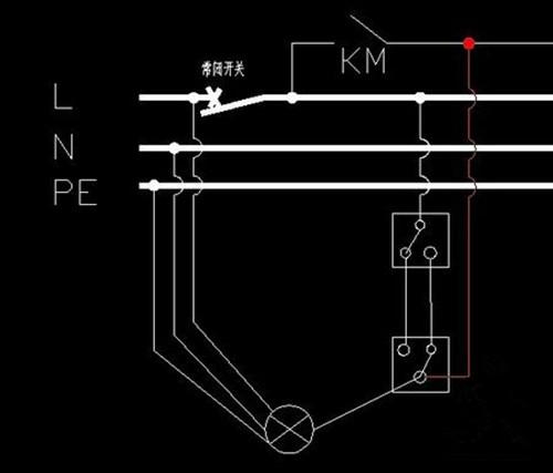 家庭装修电路图