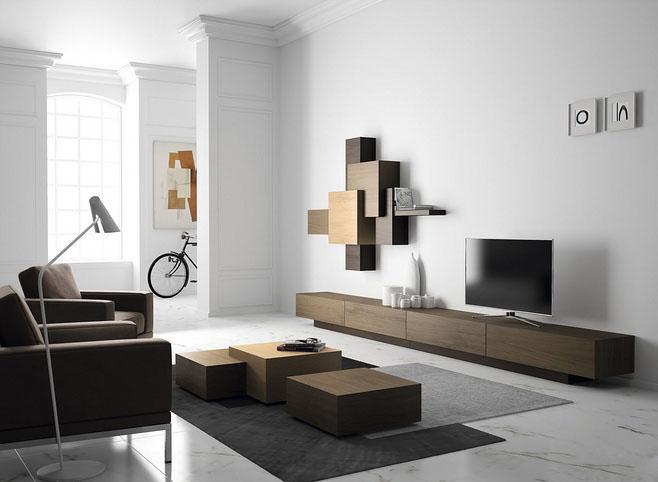 宜家现代简约客厅装修效果图