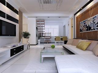 现代简约风 11款客厅装修效果图