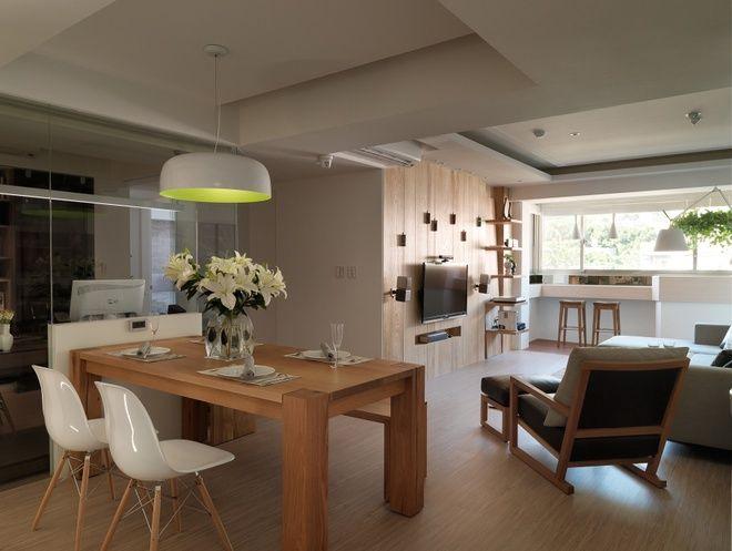 欧式风格二居室简洁效果图