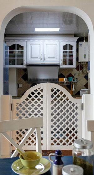 混搭风格三居室温馨装修效果图