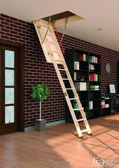 阁楼伸缩楼梯选购技巧及优缺点图片