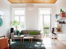 点亮生活色彩 清新一居设计