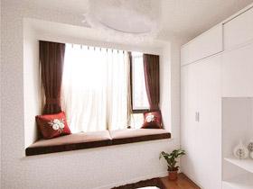 浓香巧克力 11款飘窗窗帘图片