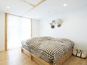 简约随意MUJI风 12图轻松打造温馨卧室