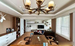 实木餐厅餐桌椅设计图片
