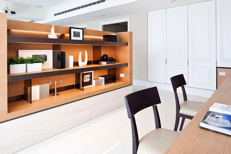 现代简约风格三居室奢华140平米以上设计图