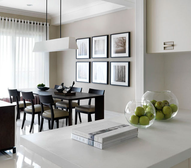 现代简约风格三居室奢华140平米以上装修效果图