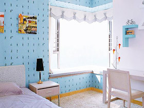 卧室的风景线 13款转角飘窗效果图