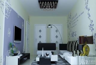 沙发背景墙装修 10图展现硅藻泥创意造型