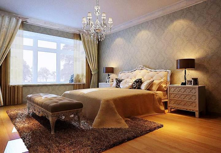 卧室大飘窗效果图