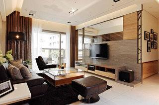 北欧宜家客厅设计效果图