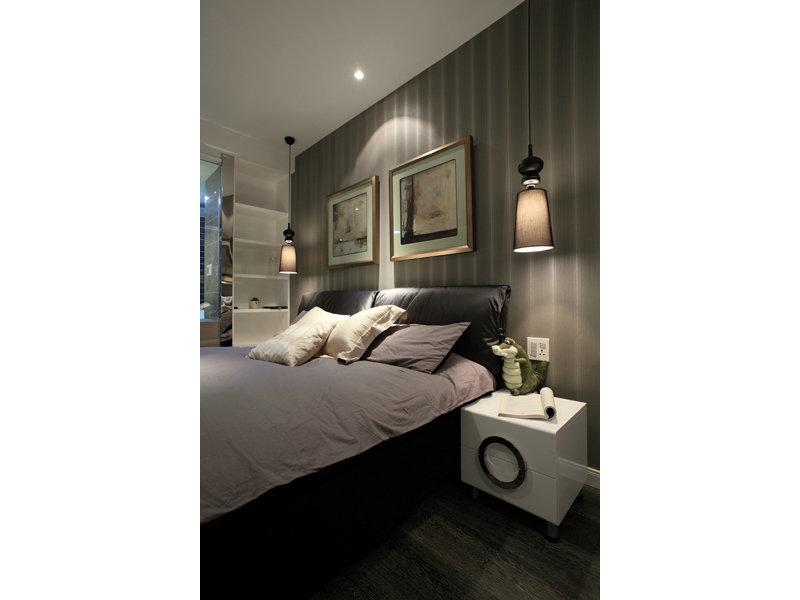 20万以上130平米简约三居室装修效果图,具有现代感的135平3房2厅高清图片