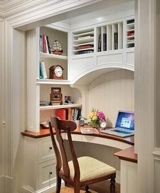 壁橱空间小书房设计