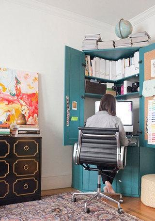 壁橱小书房设计