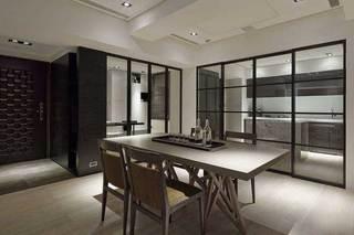 现代简约风格三居室简洁设计图