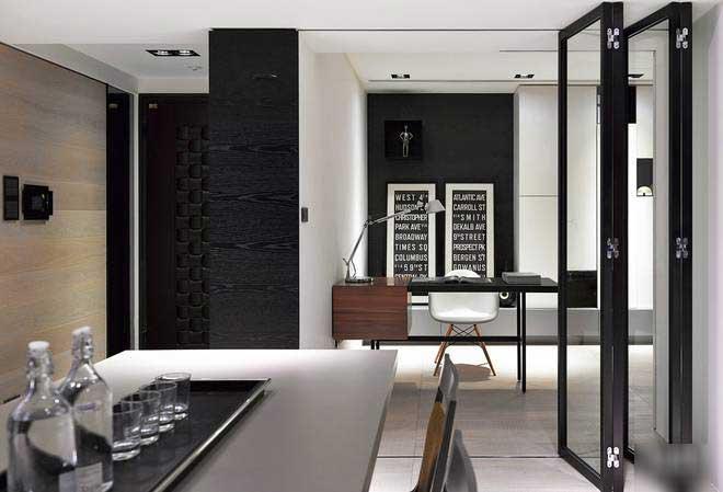 现代简约风格三居室简洁装修效果图