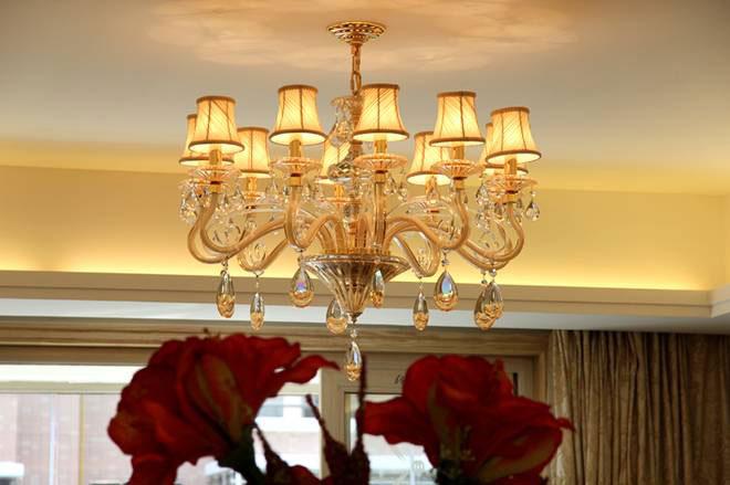 欧式客厅灯设计效果图