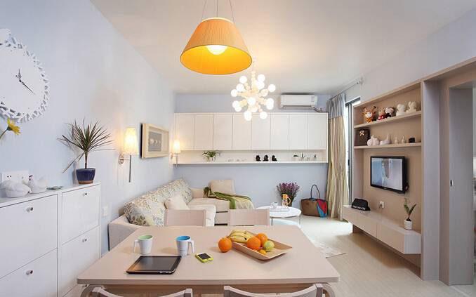 实用简约客厅设计效果图
