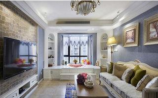 79平两房欧式风格 古佳苑5万浪漫婚房