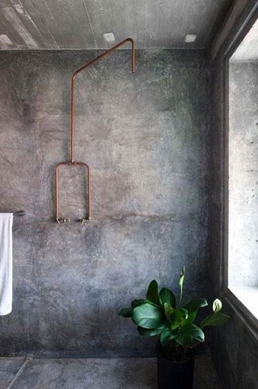 做旧工业风卫浴间