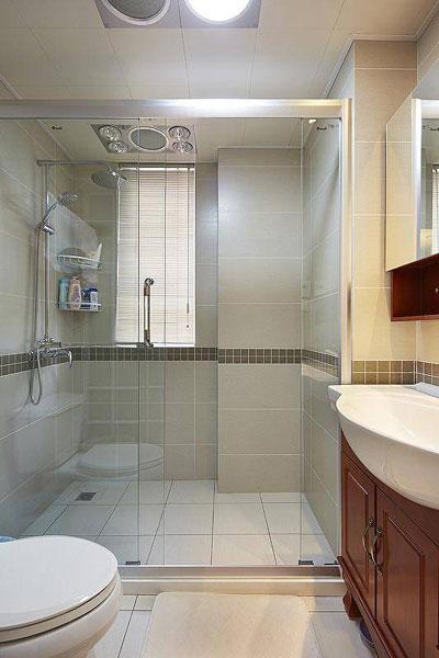 简约简洁卫生间设计效果图