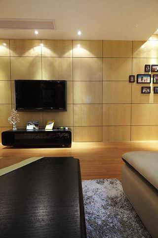 现代简约风格三居室温馨120平米设计图纸