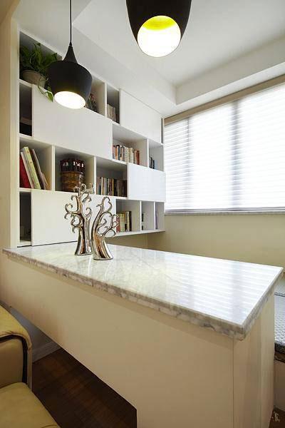 现代简约风格三居室温馨120平米装修效果图