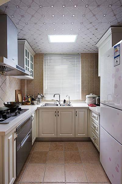 田园清新厨房设计效果图