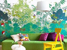 壁纸风情秀 12款客厅个性壁纸