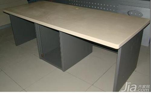 办公桌说明办公桌安装漆膜_家居步骤_知厚度图纸中的安装知识图片
