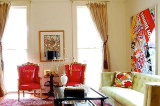 唯美糖果色客厅客厅