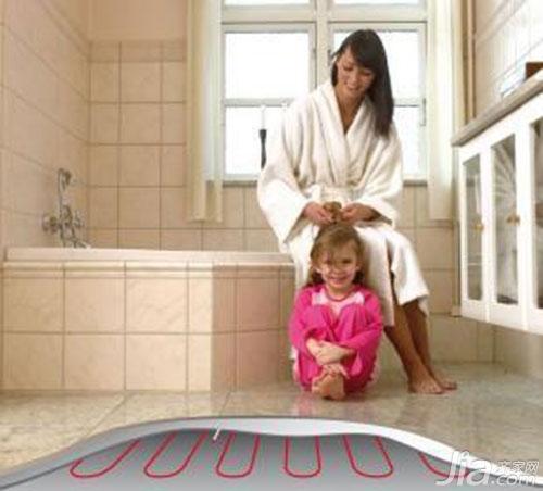 新装修房子卫生间的地暖怎么铺设