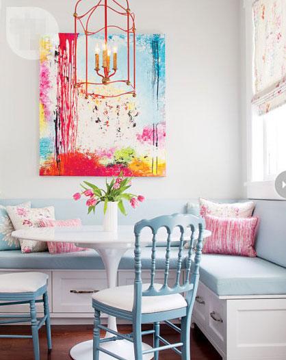 温馨暖色调客厅效果图