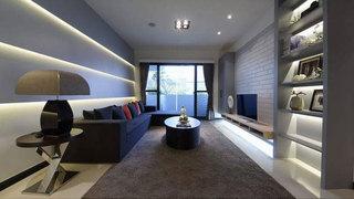 时尚简约客厅设计效果图