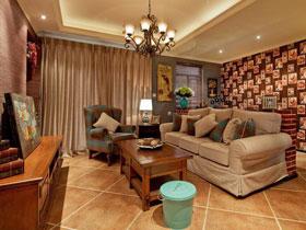 二居室装修 90平美式乡村小家