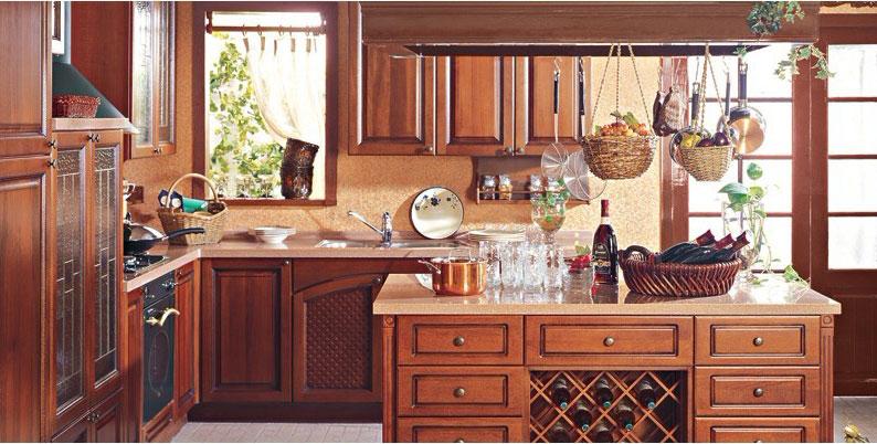 美式新古典风格整体橱柜图片