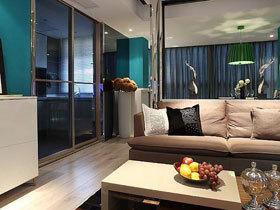 都市现代简约风三居装修 宽敞空间好舒适