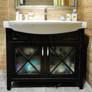 简洁浴室柜设计图片