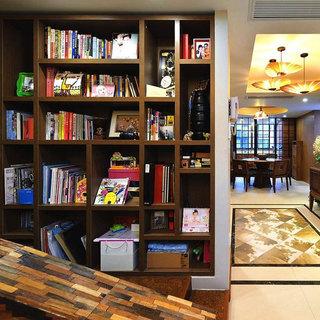 东南亚风格三居室120平米装修图片