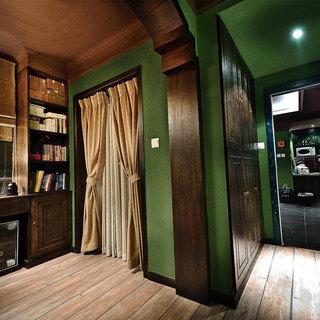 美式风格三居室装潢