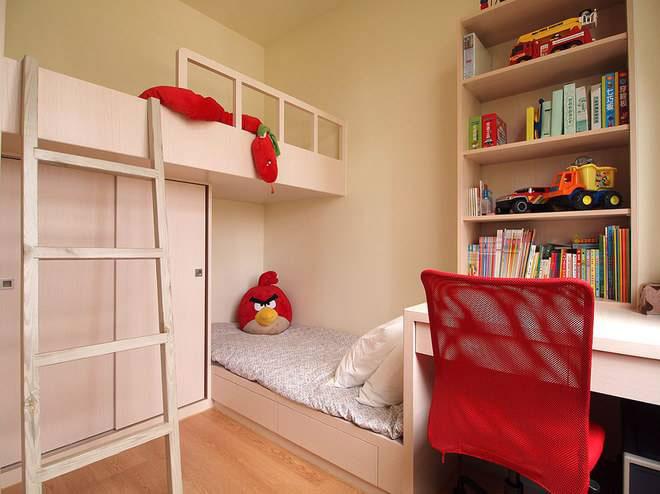 简洁宜家儿童房设计效果图