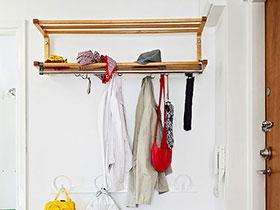 13款玄關墻面衣帽架 搞定凌亂門廳